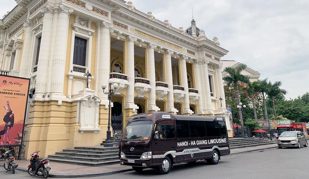 Bus Hanoi to Ha Giang and Return